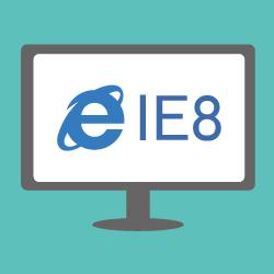 Internet Explorer8対応